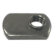 "1/4""-20 Spot Weld Nut, Single Tab (2800/Bulk Pkg.)"