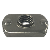 "5/16""-18 Spot Weld Nut, Dual Rib Projection (1700/Bulk Pkg.)"