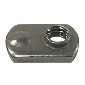 "5/16""-18 Spot Weld Nut, Single Tab, Single Projection (1500/Bulk Pkg.)"