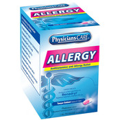 Allergy Antihistamine, 25 mg, 1 Pkg/50 ea