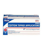 "Cotton-Tipped Applicators, 3"", 200/Pkg"