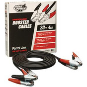 Commercial Grade Booster Cable, 4 ga, 20'
