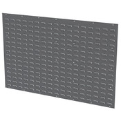 "Akro-Mils® Louvered Panel, 52""L x 34 1/8""H x 5/16""W, Gray"