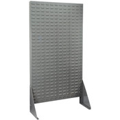 "Akro-Mils® Riveted Single-Sided Louvered Floor Rack, 61"" x 36"""