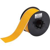 """Brady® B30 Series Indoor/Outdoor Vinyl Labels, 2 1/4"""", Yellow"""