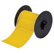 """Brady® B30 Series Indoor/Outdoor Vinyl Labels, 4"""", Yellow"""
