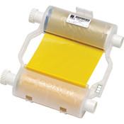 Brady® B30 Series R10000 Single Color Printer Ribbon, Yellow