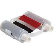 Brady® B30 Series R10000 Two Color Printer Ribbon, Black/Red
