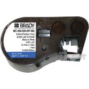 """Brady® BMP®41 BMP®51 BMP®53 Indoor/Outdoor Vinyl Labels 1/2"""""""