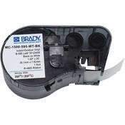 """Brady® BMP®51 BMP®53 Indoor/Outdoor Vinyl Labels, 1/2"""""""