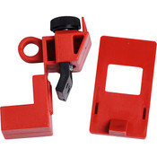 "Brady® Clamp-On Breaker Lockouts, 120/277 VAC, 2 3/16""H x 1""W x 5/16""D, 1/Pkg"