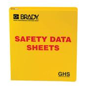 """Brady® GHS Standard SDS Binder, 1 1/2"""" Rings"""