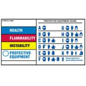 "Brady® Regulatory Labels, 3"" x 5"""