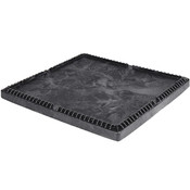 "Buckhorn® Structural Foam Lid (For 48"" x 45"" Standard-Duty Boxes), 48""L x 45""W x 2""H, Black"