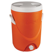 Coleman® Beverage Cooler, 5 gal, Orange
