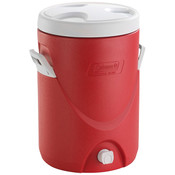 Coleman® Beverage Cooler, 5 gal, Red