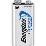Energizer® Ultimate Lithium® 9V Battery, 1/Pkg