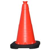 "Enviro-Cone® Traffic Cone, 18"", 3 lb"