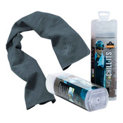 Ergodyne® Chill-Its® Evaporative Cooling Towel, Gray