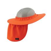 Ergodyne® Chill-Its® Hard Hat Brim w/ Shade, Orange