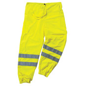 Ergodyne® GloWear® 8910 Class E Hi-Vis Pants, Large/X-Large, Lime