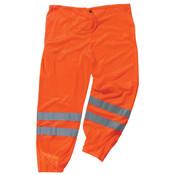 Ergodyne® GloWear® 8910 Class E Hi-Vis Pants, Large/X-Large, Orange