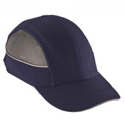 Ergodyne® Skullerz® Bump Cap w/ LED Lighting, Long Brim, Navy