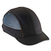 Ergodyne® Skullerz® Bump Cap w/ LED Lighting, Short Brim, Black