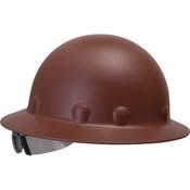 Fiber-Metal® Roughneck® P1 Full Brim Hat, SuperEight® Ratchet Supsension, Brown