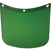 Fibre-Metal® High Performance Face Shield w/ Standard View, Dark Green