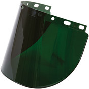 Fibre-Metal® High Performance Face Shield w/ Wide View, Shade 5.0