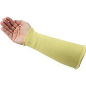 "Honeywell® Kevlar® Sleeve w/o Thumb Holes, 10"", Yellow (25/Pkg.)"
