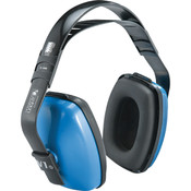 Honeywell® Viking V1 Noise Blocking Earmuffs, NRR 25, Blue/Black
