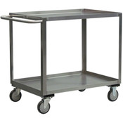 "Jamco Stainless Steel Service Cart, 48""L x 35""H x 24""W"