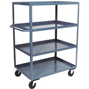 "Jamco Stock Truck, 4 Shelves, 60""L x 60""H x 30""W"
