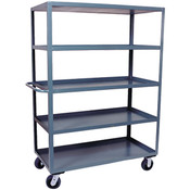 "Jamco Stock Truck, 5 Shelves, 60""L x 68""H x 24""W"