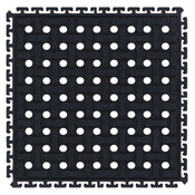 "M + A Comfort Flow HD Modular Tile Mat, Center Tile, 18"" x 18"""