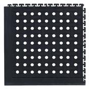 "M + A Comfort Flow HD Modular Tile Mat, Corner Tile, 19 1/8"" x 19 1/8"""