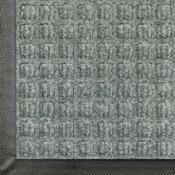 M + A Waterhog Classic Entrance Mat, Medium Gray, 4' x 6'
