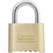 "Master Lock® 4-Digit Resettable Combination Padlock, 1"" Shackle"
