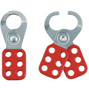 "Master Lock® Steel Lockout Hasp, 1"" Jaws"