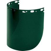 "North® Protecto-Shield® Propionate Replacement Face Shield, Shade 5.0, 8 1/2"" x 15"" x 0.07"""
