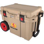 Pelican™ Elite Cooler, Wheeled, 45 qt, Tan