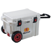 Pelican™ Elite Cooler, Wheeled, 45 qt, White