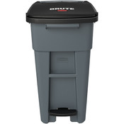 Rubbermaid® Brute® Step-On Rollout w/o Casters