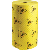 "SPC® Brightsorb Hi-Vis Medium Weight Roll, 30"" x 300' (Perfed Every 15"" & Up Center)"
