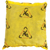 "SPC® Brightsorb Hi-Vis Pillows, 18"" x 18"", 16/Case"