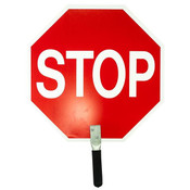 Stop/Stop Traffic Paddle, Aluminum