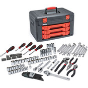 GearWrench® 143-Piece General Purpose Tool Set w/ 3-Drawer Storage Box