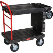 Rubbermaid® Convertible Platform Truck, Black